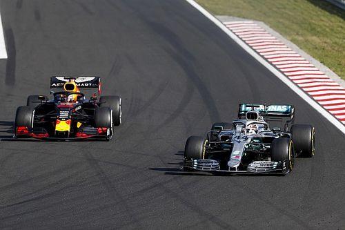 FOTOS: Veja, quadro a quadro, a ultrapassagem da vitória de Hamilton em cima de Verstappen na Hungria