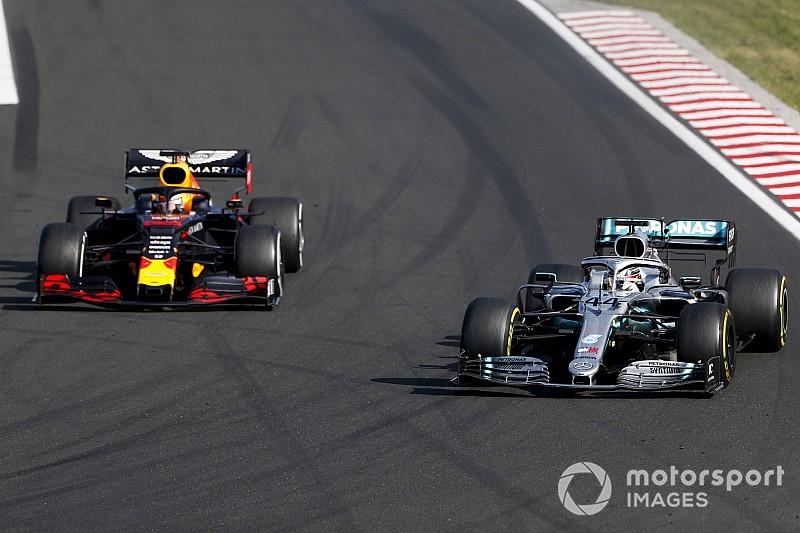 Hamilton: Verstappen blijft bedreiging voor rest van F1-seizoen