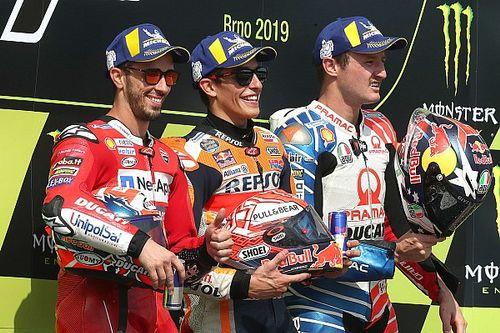 Márquez tampoco falla en Brno