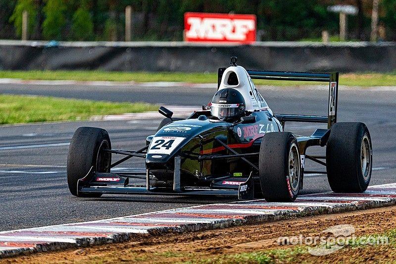 MRF F1600: Shah triumphs in rain-delayed Race 1
