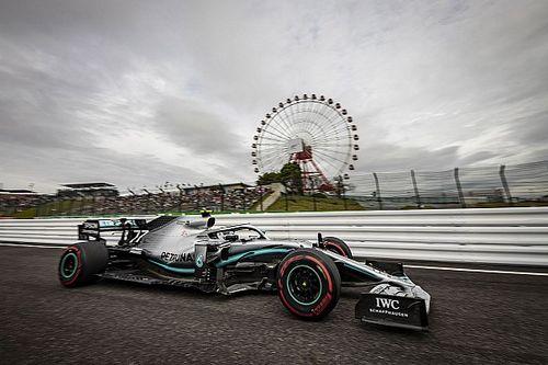 F1日本GP決勝速報:ボッタス今季3勝目。フェルスタッペン無念のリタイア