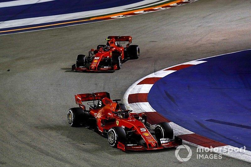 """Leclerc califica de """"injusta"""" la estrategia de Ferrari"""