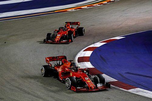 Não foi só 'ajuda' da Ferrari: veja como Vettel 'voou' e voltou à frente de Leclerc no GP de Singapura