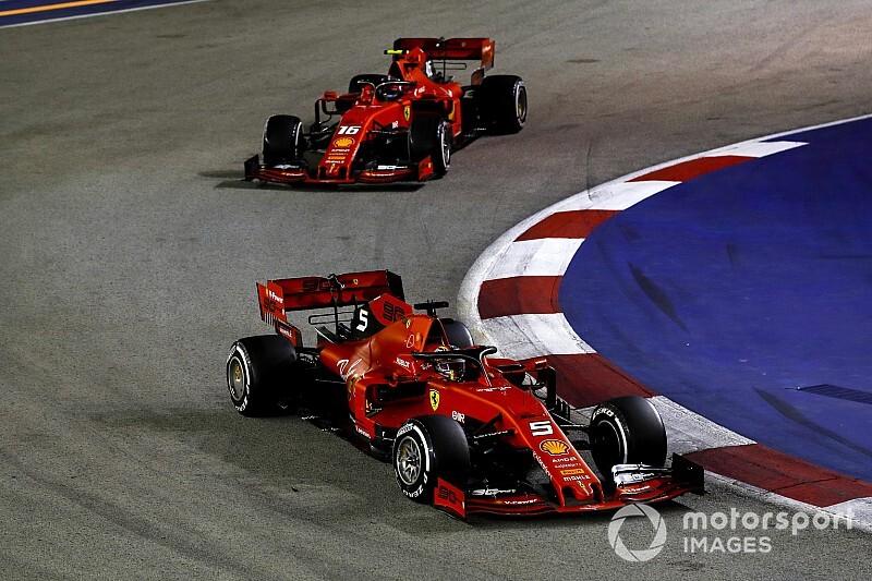 """Leclerc fulmine contre """"l'injuste"""" stratégie pro-Vettel"""