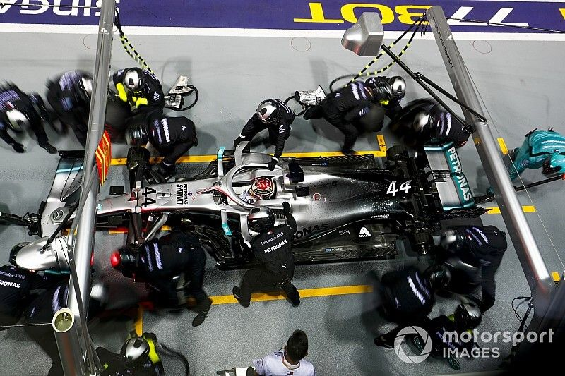 Mercedes agacé d'avoir autant manqué son GP de Singapour