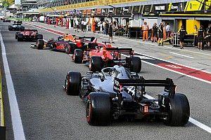 Reprimenda para tres pilotos por el show en la Q3 en Italia