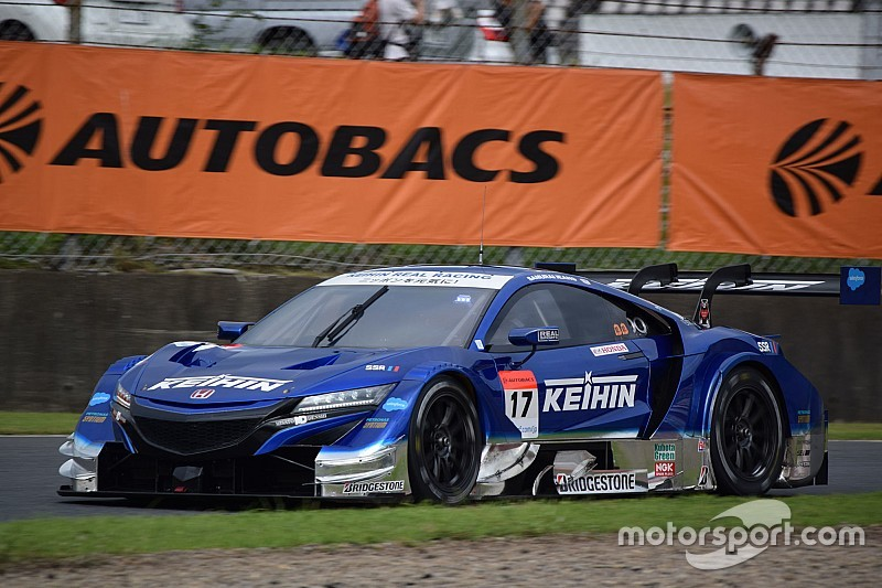 Autopolis Super GT: Honda sweeps front row in qualifying