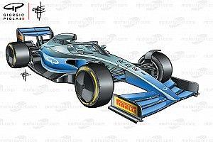 "F1、2021年の""グランドエフェクト""マシンで風洞実験。動画も公開"