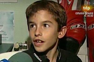 """Marquez à 10 ans: """"Quand je serai grand, je veux être comme Pedrosa"""""""
