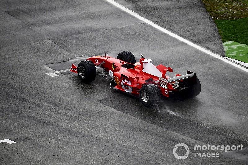 Schumacher fia a legendás V10-es Ferrarival