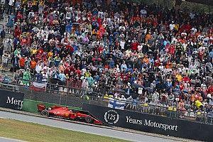 """Leclerc califica de """"inaceptable"""" el poco agarre en Hockenheim"""