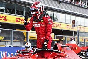 La parrilla de salida del GP de Bélgica 2019 de F1, en imágenes