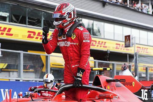 比利时大奖赛排位赛:莱科勒克强势抢下杆位,法拉利包揽头排