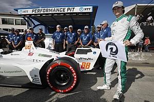 Новичок IndyCar Херта выиграл второй поул в сезоне