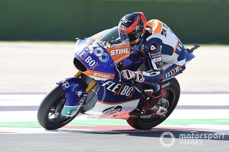 Moto2, Misano: Fernandez su Di Giannantonio, vittoria sub iudice