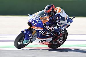 Moto2サンマリノ決勝:フェルナンデスが2連勝。長島哲太は転倒リタイア