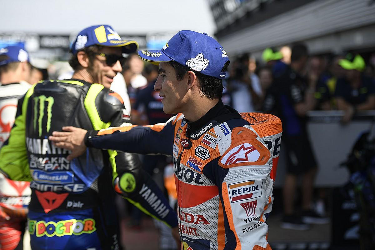 "Rossi califica de ""casi perfecta"" la temporada de Márquez"