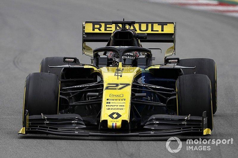 """Hulkenberg dice que la nueva ala trasera de los F1 es como un """"paracaídas"""""""