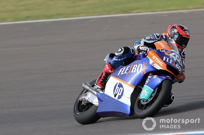 Moto2, Barcellona, Libere 2: Fernandez beffa Luthi nel finale, Baldassari è quarto