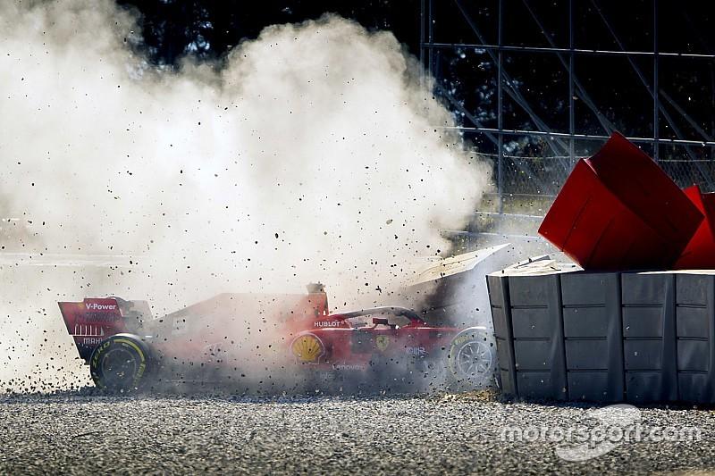 Vettel elismeri, nagyon fájt neki a hibája a Német Nagydíjon