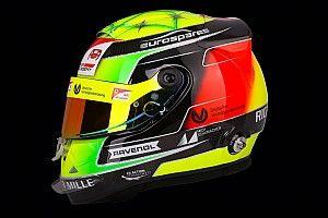 GALERIA: Mick Schumacher se inspira em design do pai em capacete para estreia na F2