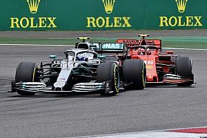 Mercedes compense en courbe la vitesse de pointe des Ferrari