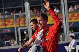 """Vettel tras su cuarto sitio en Australia: """"No es el resultado que queríamos"""""""