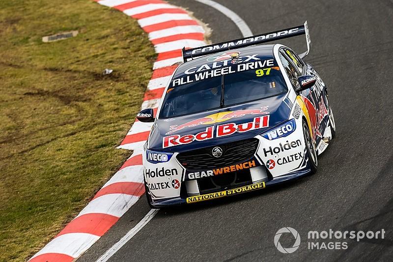 Tasmania Supercars: Van Gisbergen beats Coulthard to pole