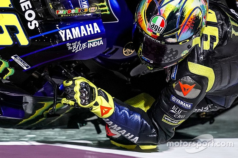 Yamaha runs Indian tricolour on MotoGP bike