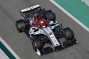 Giovinazzi: İlk test Alfa Romeo için çok verimli geçti