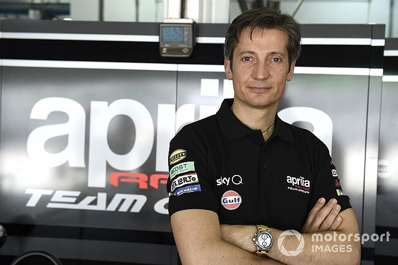 Rivola arrival has made Aprilia 'much more serious'