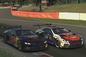 Coanda golpea primero y RedBull se estrena en el podio del VRS GT iRacing World Championship