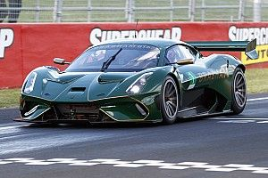 Brabham BT62 verpulvert ronderecord in Bathurst tijdens demo