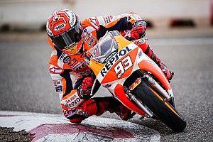 Marquez torna in moto, ma ammette che la spalla operata è ancora un problema