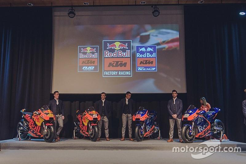 Quatre motos sur la grille, un défi logistique pour KTM