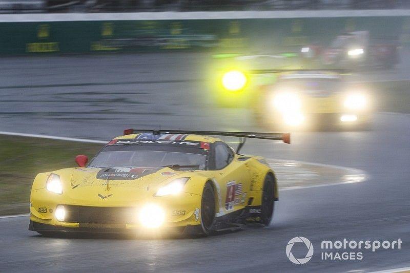 """Gavin: Corvette fue víctima en Daytona de la """"lotería"""" causada por la lluvia"""