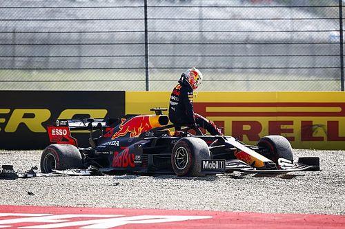 Verstappen plus agacé par son moteur que par l'accrochage