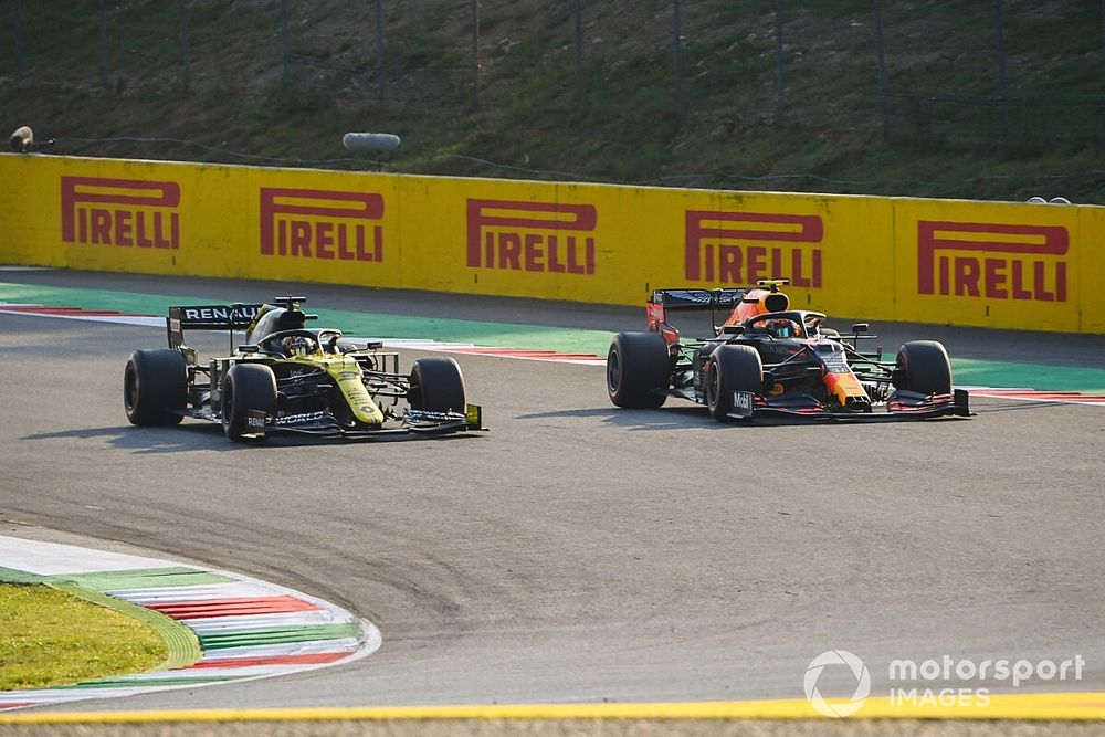 """Ricciardo, 4e : """"Forcément un peu de douleur"""" d'avoir perdu le podium"""