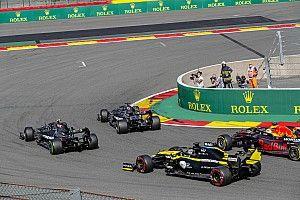 Ricciardo cerca del podio en Spa y de pagar su apuesta con Renault