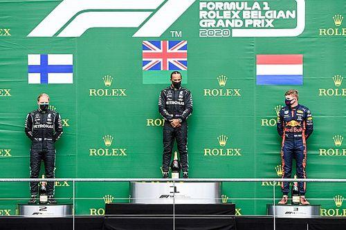ترتيب بطولة العالم للفورمولا واحد بعد جولة سبا