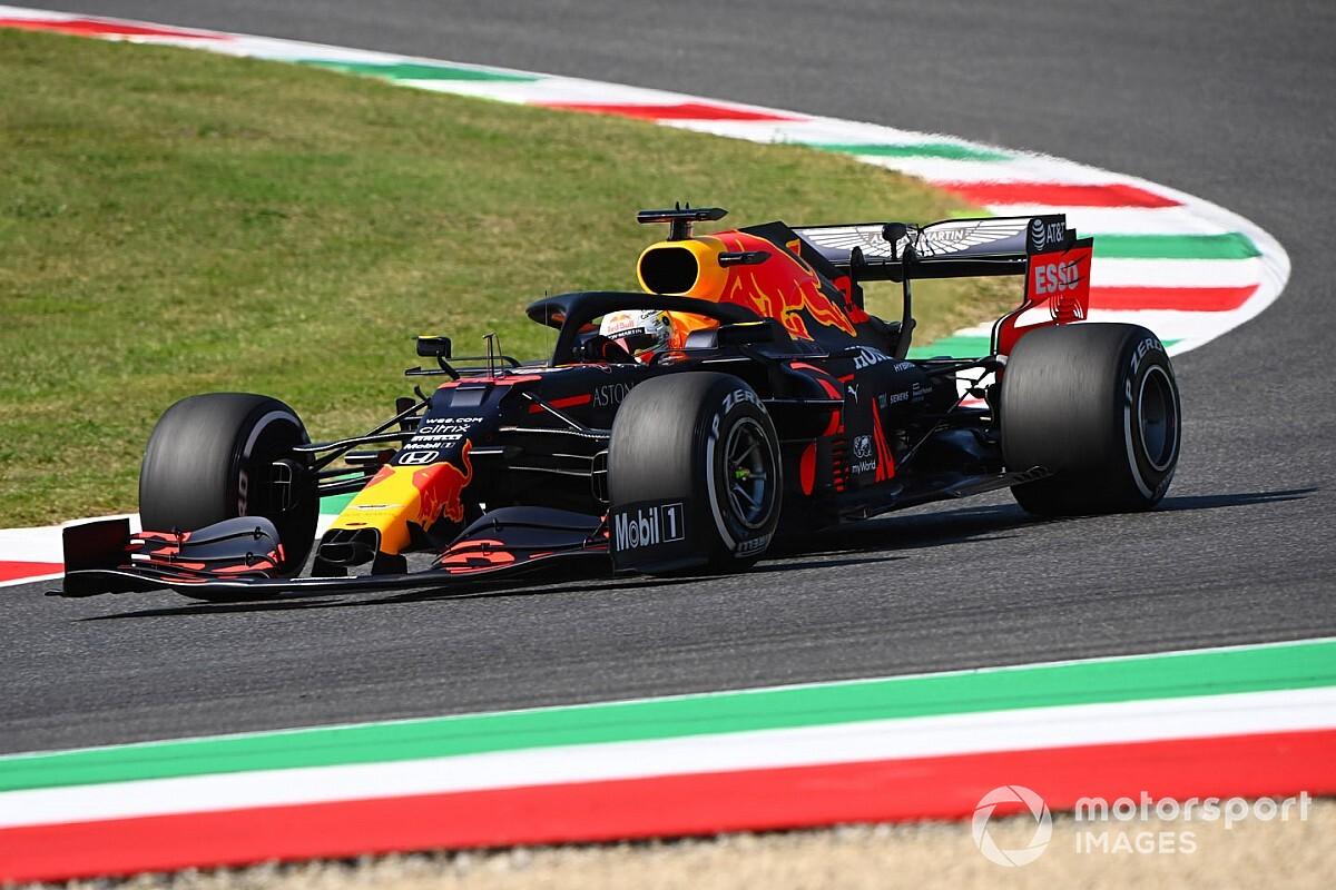 """Verstappen geniet op Mugello: """"Gaaf circuit en goed begin"""""""