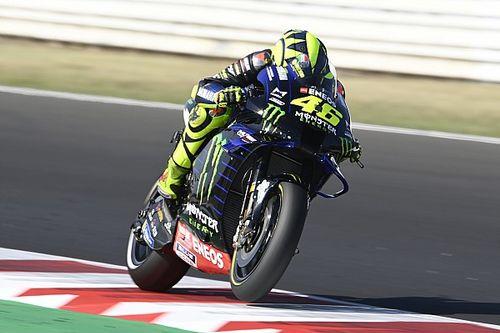 Rossi met speciale helm aan kop in derde training GP San Marino