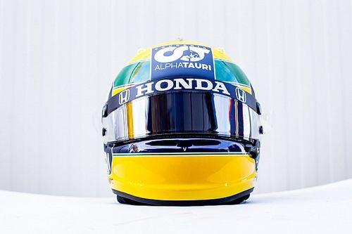 El tributo especial de Gasly a Senna en el GP de Emilia Romagna