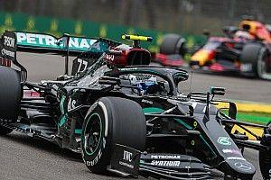 Mercedes didn't believe sensors over Bottas's debris strike