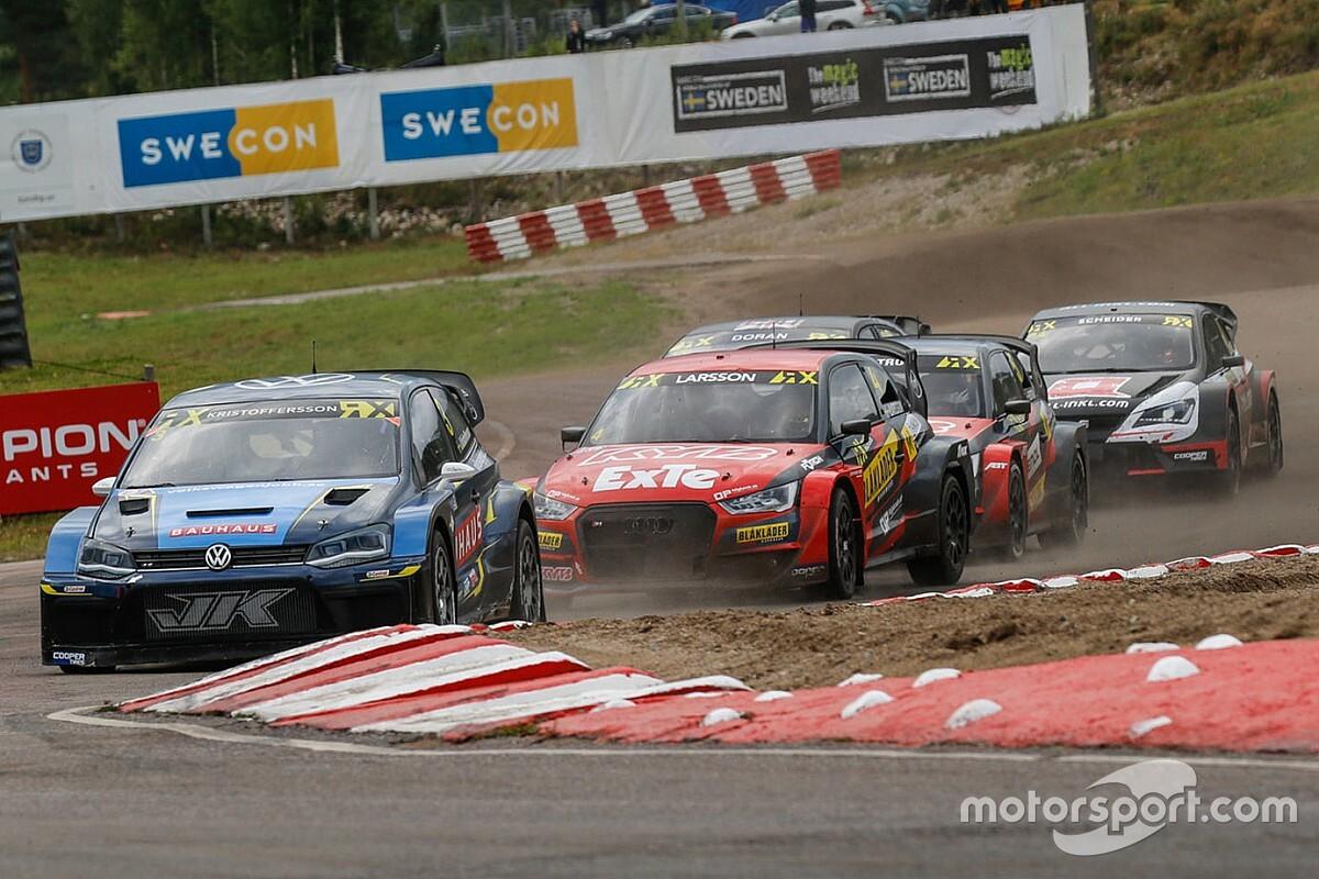 Holjes WRX: Johan Kristoffersson makes winning return
