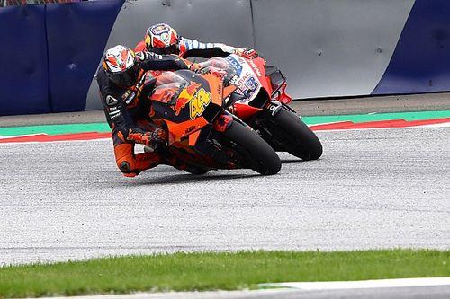 """Espargaró e Miller lamentam vitória que escapou na última curva na Estíria: """"Fiquei em choque quando vi Oliveira passando"""""""