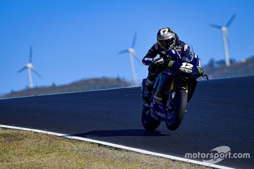 Vinales e Zarco ai test SBK di Jerez con delle moto stradali