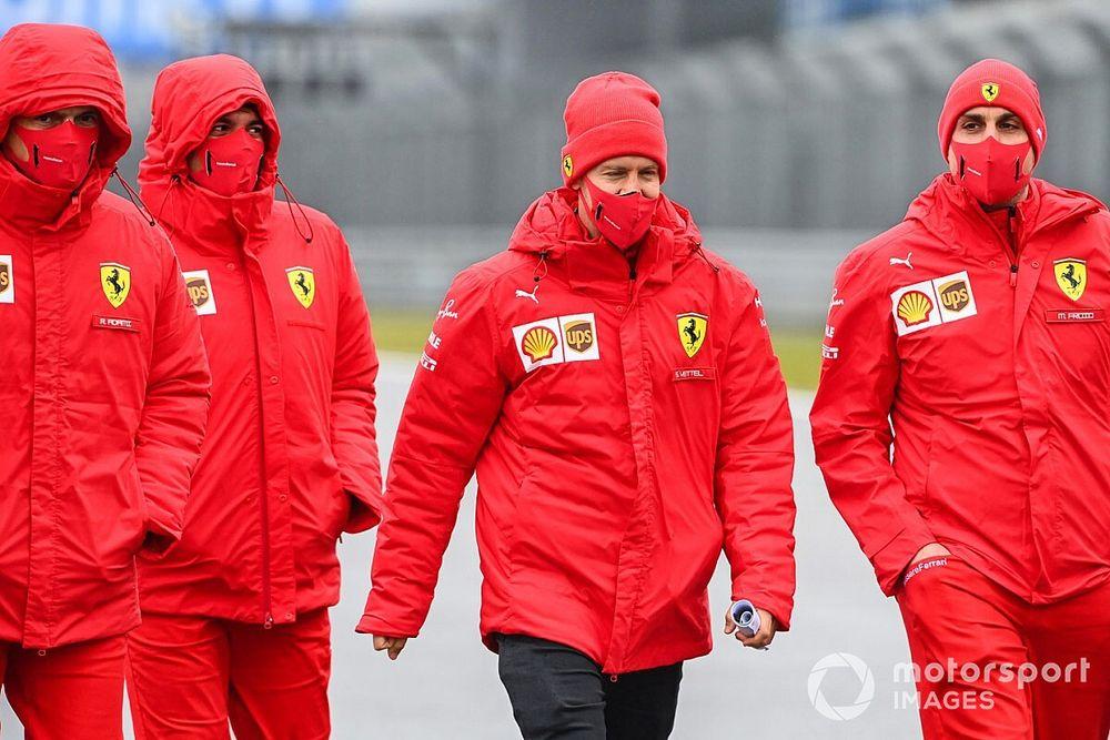 """Vettel: """"Chi scalderà le gomme avrà un gran vantaggio"""""""