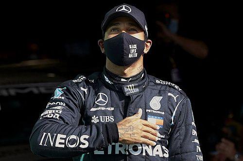 """Hamilton: """"92 vittorie. Ci vorrà tempo per capire cosa ho fatto"""""""
