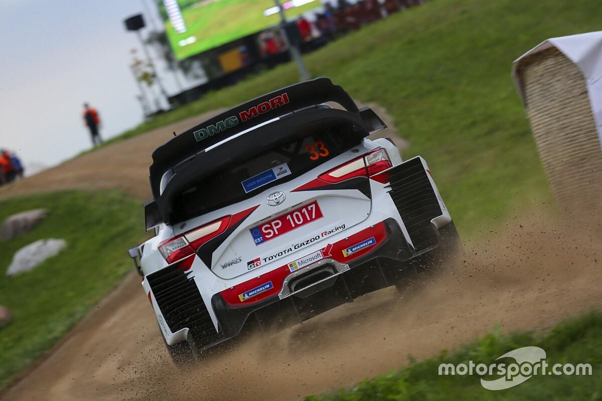 Cztery Yarisy WRC w Monzy